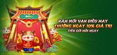 HOÀN TRẢ CƯỢC THUA LÊN ĐẾN 500 NGHÌN TẠI KING SLOTS, CLUB KOI
