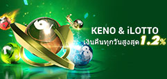 daily rebate keno and ilotto promo