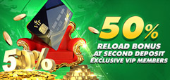 FB88 50% Bonus for VIP members